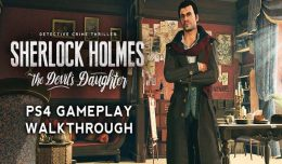 sherlock holmes the devil's daughter ps4 gameplay video logo