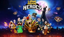 the lapins cretins heroes logo