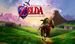 the legend of zelda ocarina of time 3ds logo