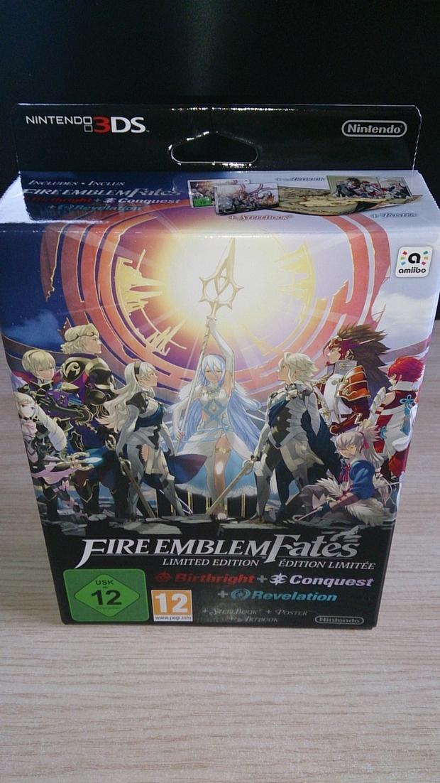 Fire Emblem Fates Collector Unboxing Photo (1)