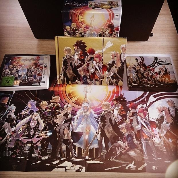 Fire Emblem Fates Collector Unboxing Photo (26)