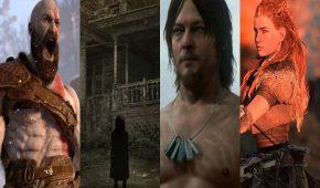 Sony conférence E3 2016 projo logo kratos aloy reedus resevil