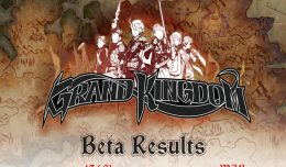 grand kingdom beta infographic logo