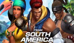 king of fighters xiv south america team