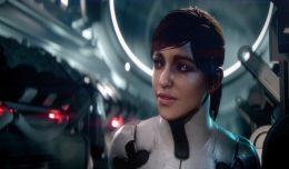 mass effect andromeda girl logo