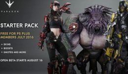 paragon starter pack free playstation plus members