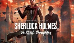 sherlock holmes the devil's daugther launch logo title