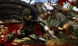 berserk warriors koei tecmo screen logo