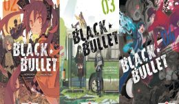 black bullet volume 2 3 4 critique review screen cover