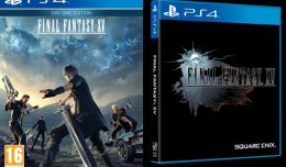 final fantasy xv cover jaquette final logo