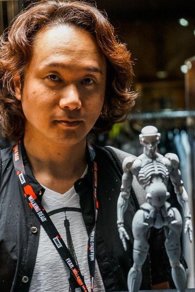 ludens figurine 1000 Toys Squelette 2