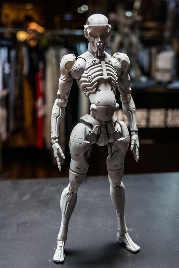 ludens figurine 1000 Toys Squelette 3