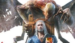 the witcher 3 blood and wine tet review screen logo