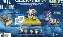 world of final fantasy collector edition