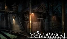 yomawari playstation vita screen logo