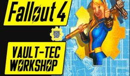 Fallout 4 DLC vault-tec workshop test review screen logo