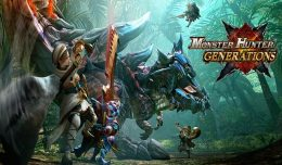 Monster Hunter Generations Test Review Screen Logo