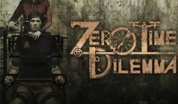 Zero Escape Zero Time Dilemma Test Review Screen logo
