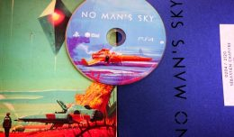 no man's sky press kit collector unboxing screen logo