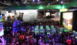 paris games week 2014 foule