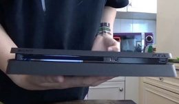 playstation 4 slim unboxing logo