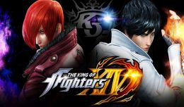 The King of Fighters XIV Test Review Screen Logo