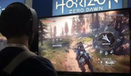 horizon zero dawn leak gameplay logo final