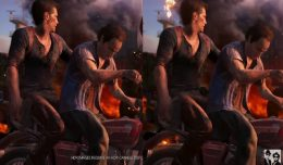 playstation 4 pro comparatif uncharted 4