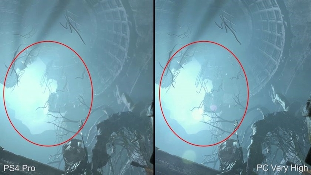 rise of the tomb raider ps4 pro specular reflection