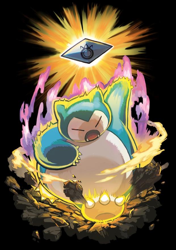 ronflex z pokémon soleil lune
