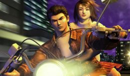 shenmue remaster screen logo
