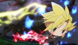 world of final fantasy anime chibi trailer