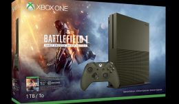 xbox one s battlefield 1 special edition military green 1tb logo