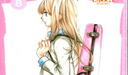your lie in april volume 8 critique review screen cover