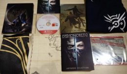 dishonored-2-kit-press-collector-deballage-unboxing-screen-logo