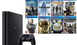 playstation-4-slim-amazon-blockbuster-logo-8-jeux