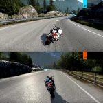 """""""Ride 2 propose un mode deux joueurs en écran splitté. Un excellent point!"""""""