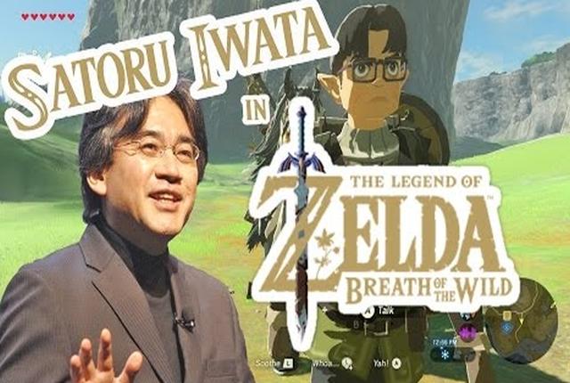 Zelda BotW: Un NPC offre un vibrant hommage à feu Satoru Iwata, l'ancien PDG de Nintendo