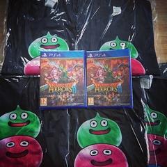 Gagnez des jeux et des t-shirts Dragon Quest Heroes 2!