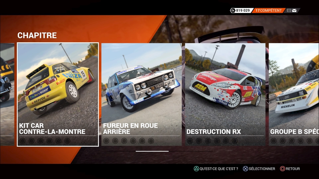dirt 4 notre test complet sur playstation 4 n. Black Bedroom Furniture Sets. Home Design Ideas
