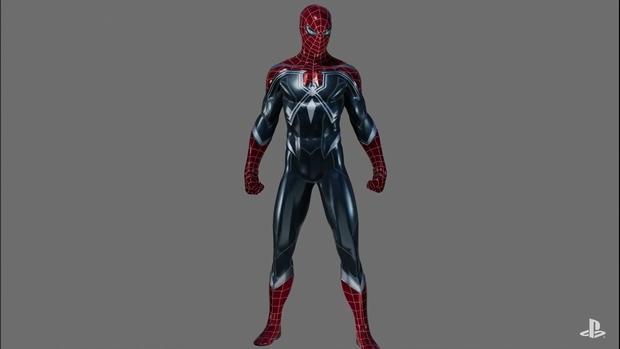 Spider,Man PlayStation 4 First DLC Skin Suit