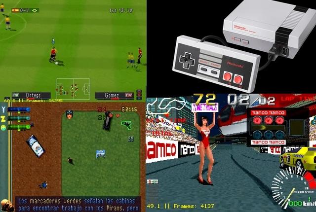 NES Mini: WTF?! Voilà qu'elle fait tourner les jeux PS1! A