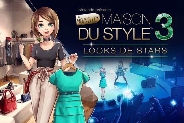 la nouvelle maison du style 3 looks de stars notre test complet sur 3ds n. Black Bedroom Furniture Sets. Home Design Ideas