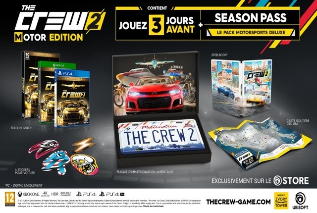 the crew 2 trouve enfin une nouvelle date de sortie vous int resse t il n. Black Bedroom Furniture Sets. Home Design Ideas